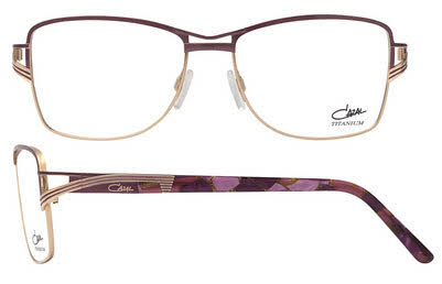 c4b3695864d Cazal 1204 001 Gold and Purple Titanium Gold-Plated eyeglasses