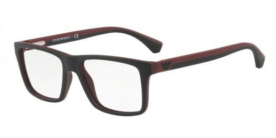 fa189ff2621 Emporio Armani EA3034 5614 black demo lens eyeglasses