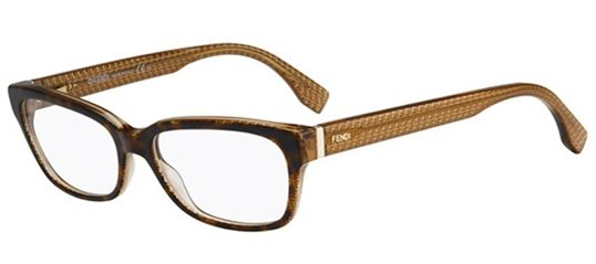 76edd80d1ff Fendi 0004 07PL 00 Dark Havana Brown eyeglasses