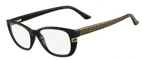 d7cbc2bb068 Fendi F998 001 Black eyeglasses