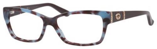 93459e6fcbe Gucci 3559 0MKB 00 Havana Azure Burgundy eyeglasses
