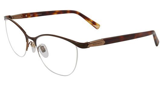 e6c96f68c2 Nina Ricci VNR078 0I62 Shiny Bronze eyeglasses