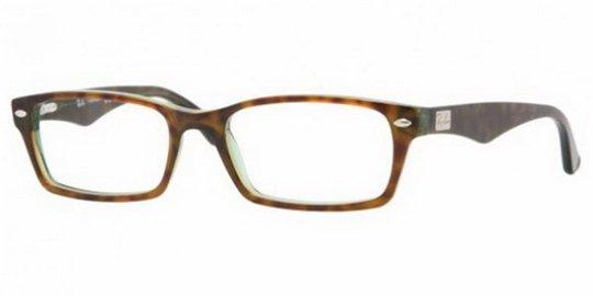 0aec4665497a1 Ray Ban RX5206 2445 Green Havana eyeglasses