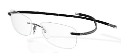 a755e7ad7b1d Silhouette Spx Art 6747 6050 Crystal black Pinstripe eyeglasses