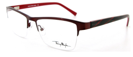 d2f91dc1310a Thierry Mugler 9350 C1 Shiny Wine Red eyeglasses